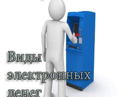 Электронные деньги, виды электронных денег