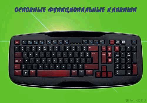 Дополнительные функциональные клавиши Word